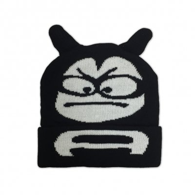 the-aquabats - Horned Bat Beanie (Black)