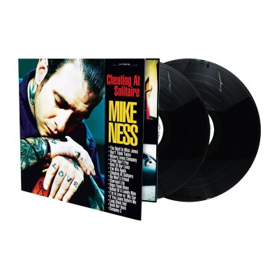 mike-ness - Cheating At Solitaire 2xLP (Black)
