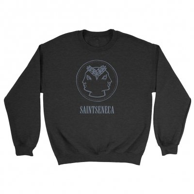 anti-records - Faces Crewneck (Black)