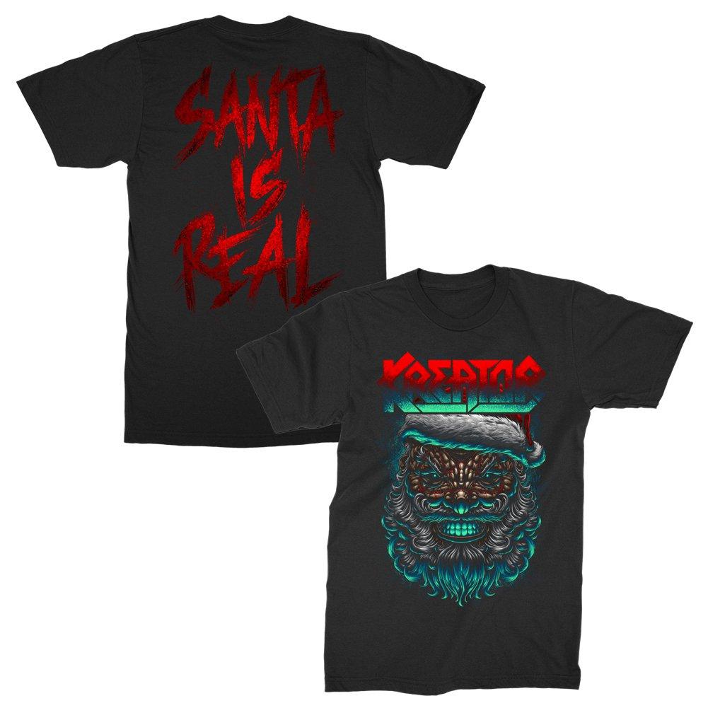 IMAGE | Santa Is Real T-Shirt (Black)