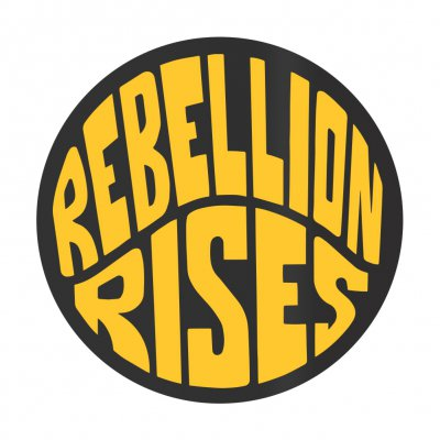 ziggy-marley - Rebellion Rises Sticker (Yellow)