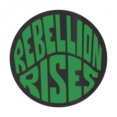 ziggy-marley - Rebellion Rises Sticker (Green)