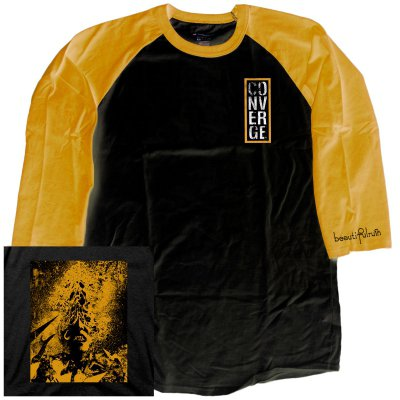 converge - Beautiful Ruin Raglan (Black/Gold)