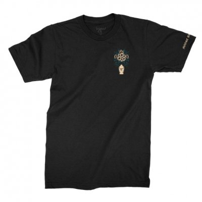 moose-blood - Vase Tee (Black)