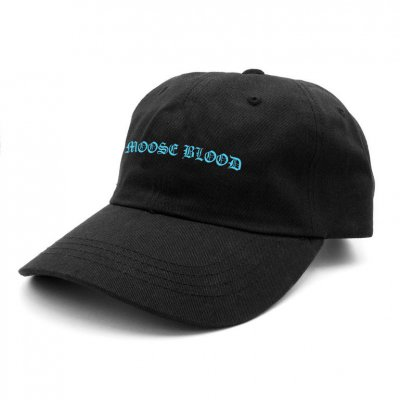 moose-blood - Logo Dad Hat (Black)