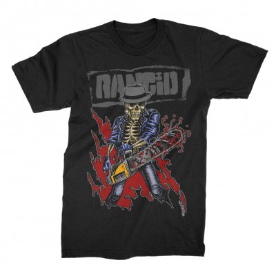 rancid - Chainsaw Skele-Tim T-Shirt (Black)
