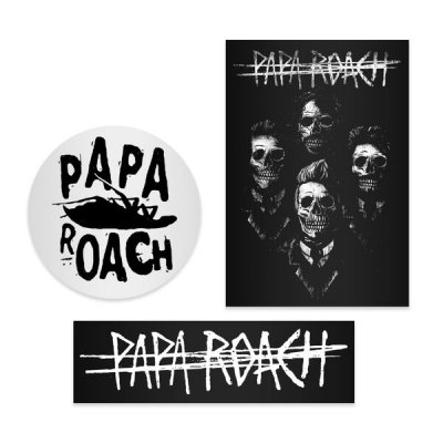 papa-roach - 3 Sticker Pack