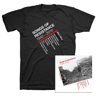 anti-records - Songs of Resistance 1942-2018 CD + Tee (Black) Bundle