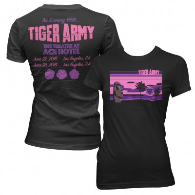 tiger-army - 'Dark Paradise' EP Release 2018 Women's Event Tee