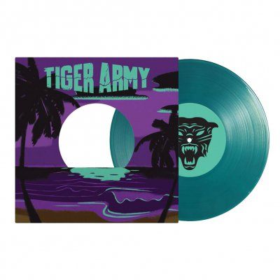 "tiger-army - Dark Paradise 7"" EP (Blue Hawaiian)"