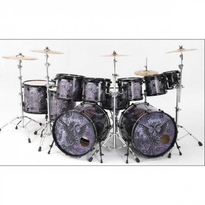 Custom Spaun Drum Kit (10 Piece)