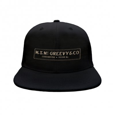 mcgreevys-pub - Snapback Hat (Black)