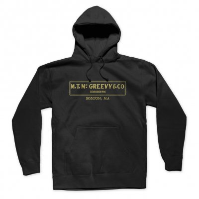 mcgreevys-pub - Hooded Sweatshirt (Black)