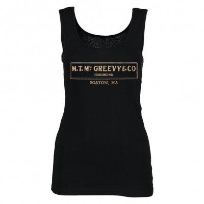 mcgreevys-pub - Logo Ladies' Tank (Black)