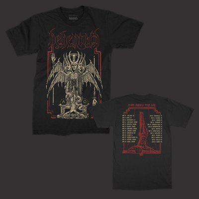behemoth - Spring 2018 North American Tour T-Shirt (Black)
