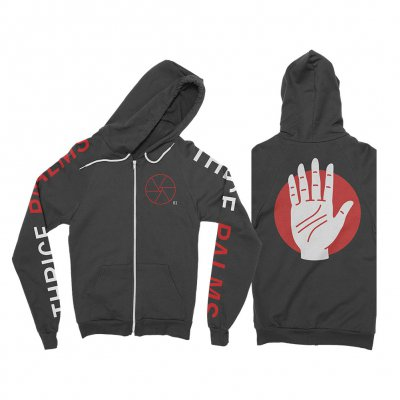 Thrice - Palms Zip-Up Hoodie (Black)