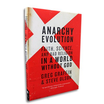 Greg Graffin - Anarchy Evolution Book (Paperback)
