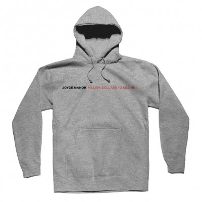 joyce-manor - Million Dollars to Kill Me Pullover Hoodie (Heathe