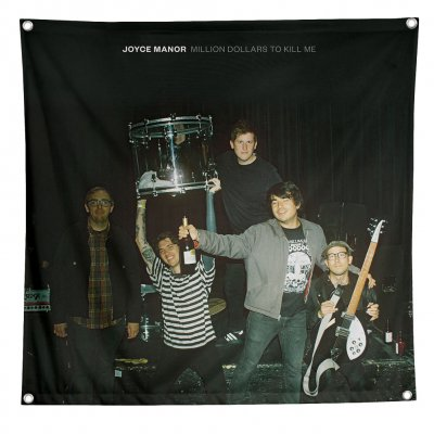 joyce-manor - Million Dollars to Kill Me Flag