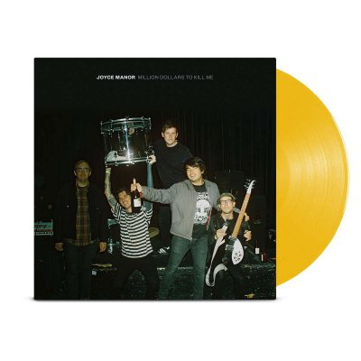 joyce-manor - Million Dollars To Kill Me LP (Dark Yellow)
