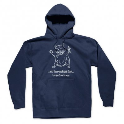 beastie-boys - Hello Nasty X Naijel Graph Rat Hoodie (Navy)