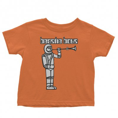 Hello Nasty Spaceman Youth Tee (Orange)