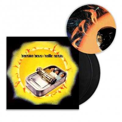 beastie-boys - Hello Nasty 2xLP (Remastered) + Slipmat Bundle