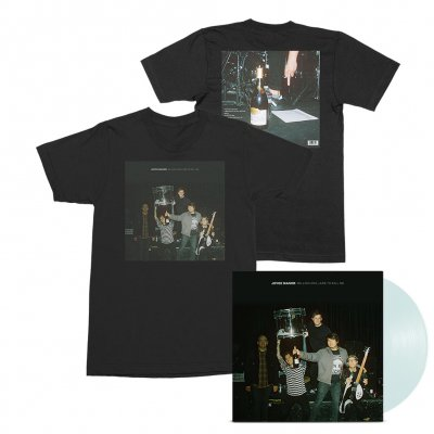 joyce-manor - Million Dollars To Kill Me LP (Coke Bottle) + Tee (Black) Bundle