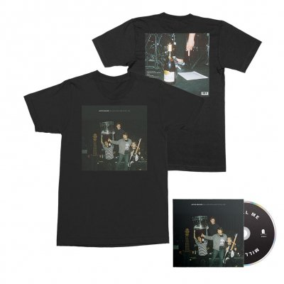 Joyce Manor - Million Dollars To Kill Me CD + Tee (Black) Bundle
