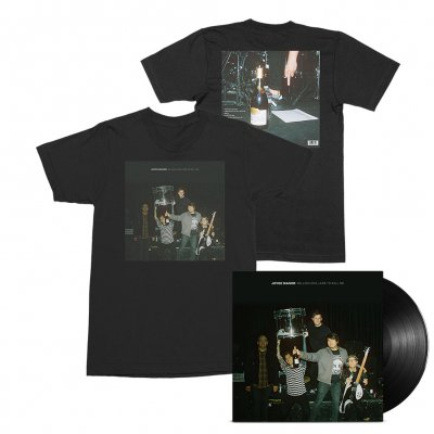 joyce-manor - Million Dollars To Kill Me LP (Black) + Tee (Black) Bundle