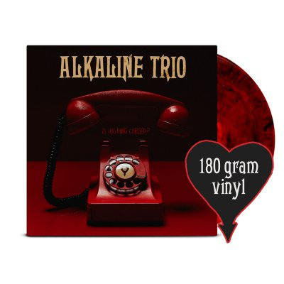Alkaline Trio - Is This Thing Cursed? LP (Opaque Red w/ Black 180g