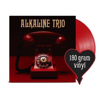 alkaline-trio - Is This Thing Cursed? LP (Opaque Red 180g)