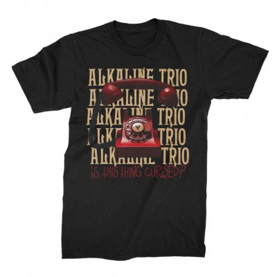 alkaline-trio - Is This Thing Cursed? Repeater Tee (Black)