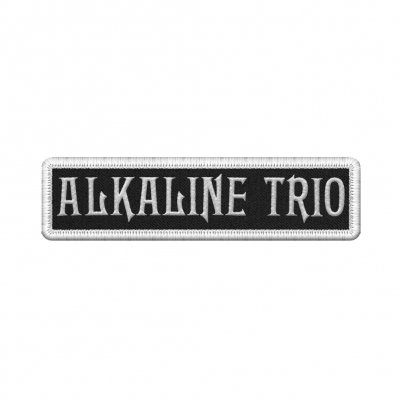 alkaline-trio - White Logo Patch