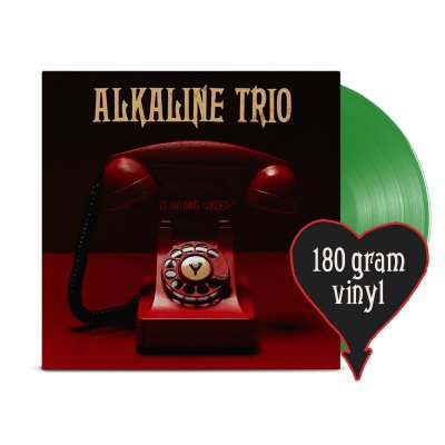 alkaline-trio - Is This Thing Cursed? LP (Opaque Green 180g)