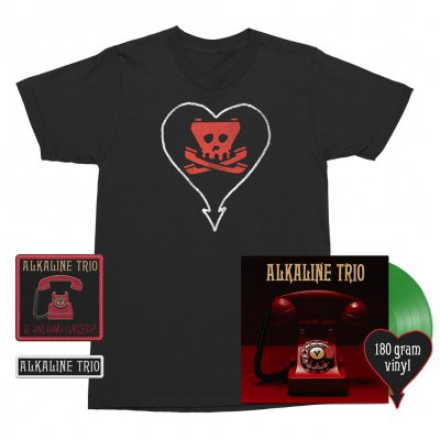 Is This Thing Cursed? LP (Green 180g) + Tone Tee (Black) + Patches (2) Bundle