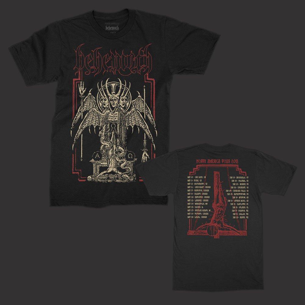 IMAGE   Spring 2018 North American Tour T-Shirt (Black)