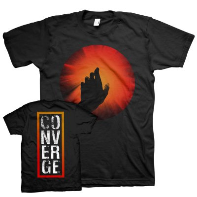 converge - The Light (Hand) Tee (Black)