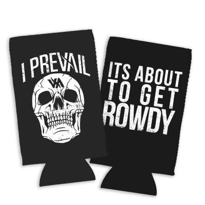 i-prevail - Rowdy Skull Coozie (Black)