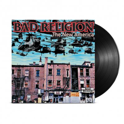 Bad Religion - New America Remastered LP (Black)