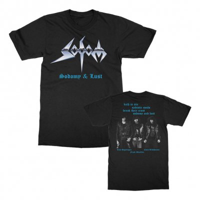 sodom - Sodomy and Lust T-Shirt (Black)