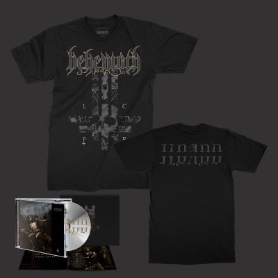 behemoth - ILYAYD CD + Cross Shirt Bundle