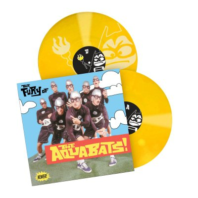 the-aquabats - The Fury Of The Aquabats Remastered 2xLP (Yellow)