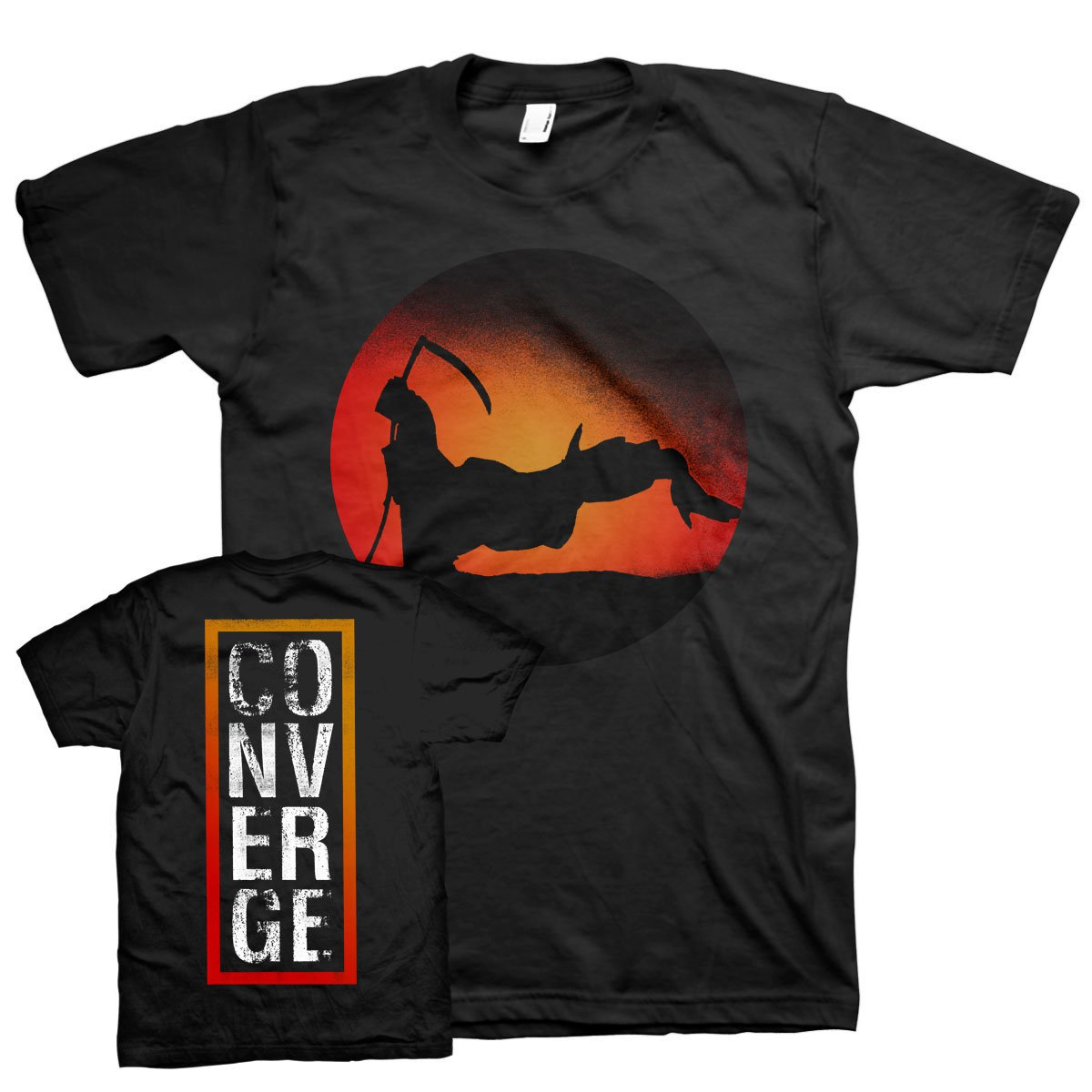 IMAGE   The End (Reaper) Tee (Black)