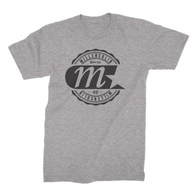 millencolin - Logo Label T-Shirt (Heather Grey)