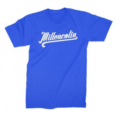 millencolin - Baseball Script T-Shirt (Royal)