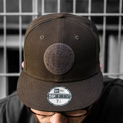 fc-st-pauli - St. Pauli Skull 59Fifty Fitted Cap (Brown)