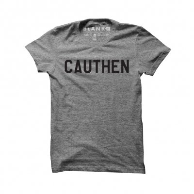 paul-cauthen - CAUTHEN T-Shirt (Heather Grey)