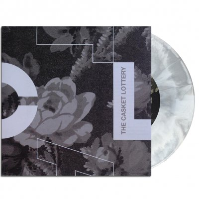"touche-amore - The Casket Lottery Split 7"" (Black/White)"