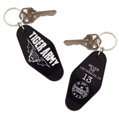 tiger-army - Room 13 Vintage Style Motel Keychain